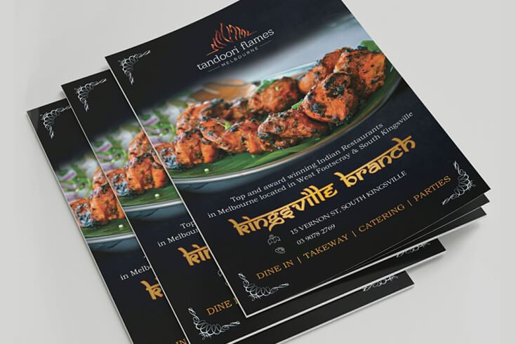 Menu of Indian Restaurant South Kingsville