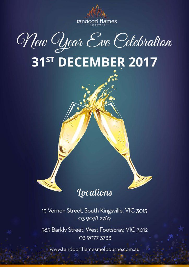New Year Eve Celebration with Tandoori Flames