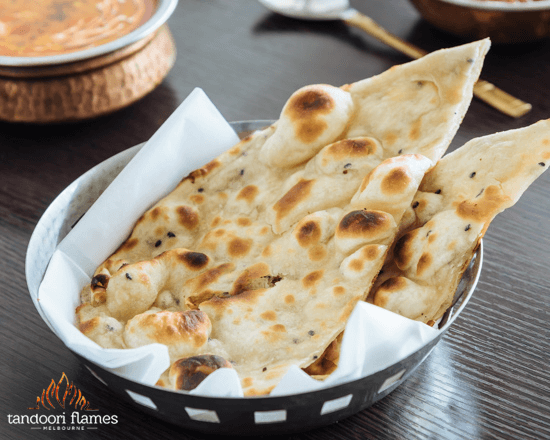 Delicious & Delectable, That's Naan Bread for You